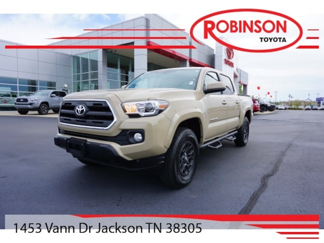 Used 2017 Toyota Tacoma SR5 Truck Double Cab in Jackson, TN