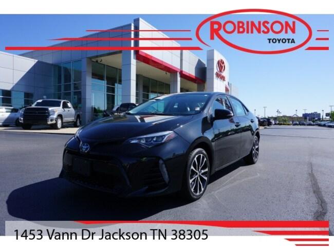 Used 2017 Toyota Corolla SE Sedan in Jackson, TN