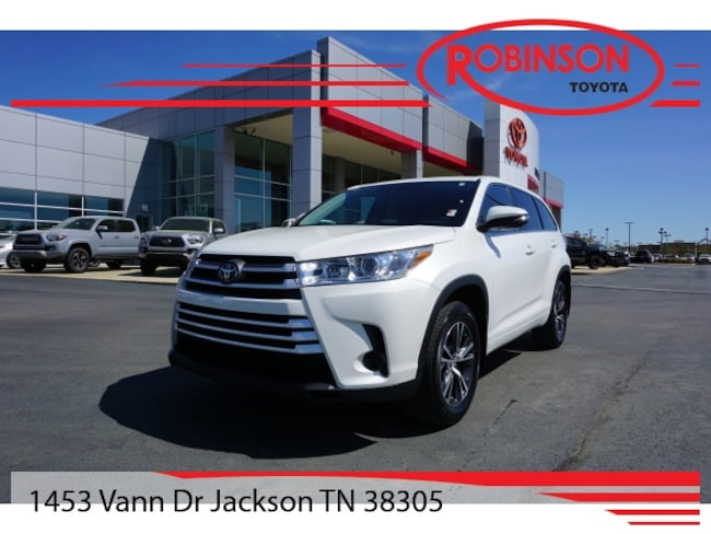 Used 2017 Toyota Highlander LE SUV in Jackson, TN