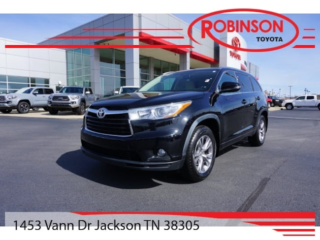 Used 2015 Toyota Highlander XLE V6 SUV in Jackson, TN