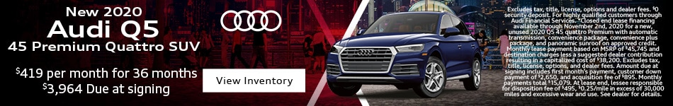 New 2020 Audi Q5 45 Premium Quattro SUV