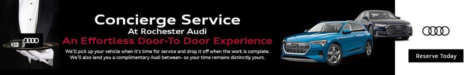Concierge Service At Rochester Audi