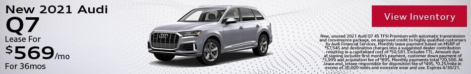 New 2021 Audi Q7