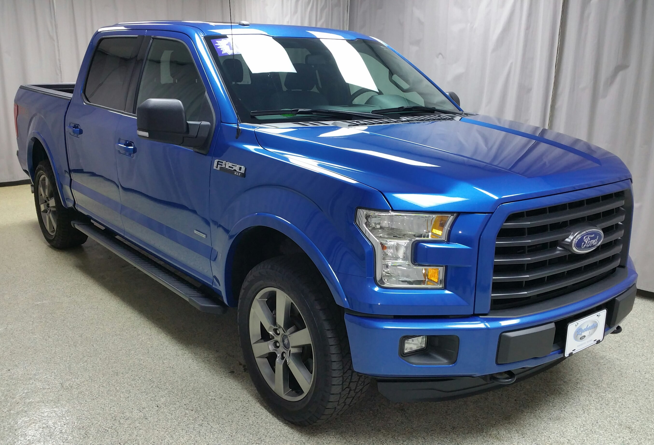 2016 Ford F-150 Supercrew 4WD Truck SuperCrew Cab