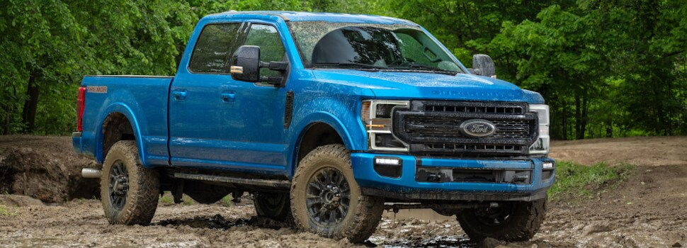 New Ford Superduty Truck