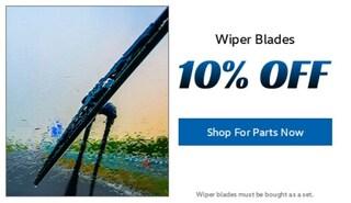 Wiper Blades 10% Off