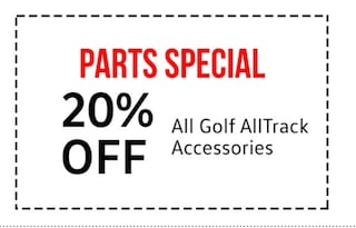 20% off all GOlf All Track accessories
