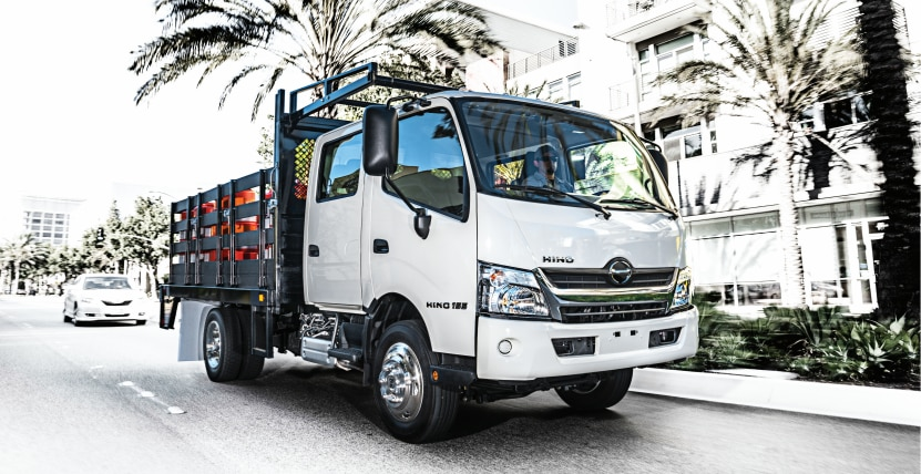 Hino 155 DC Stake for Sale at Rochester Truck