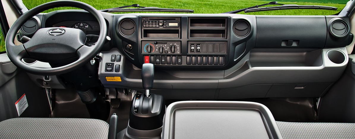HINO 155 Medium Duty Truck Interior