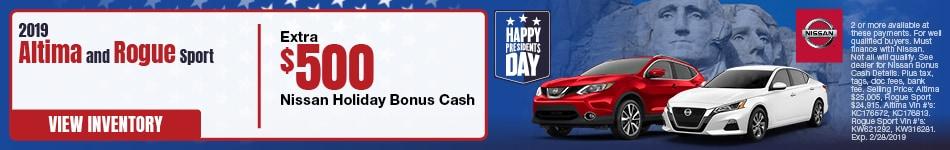 Bonus Cash Presidents Day