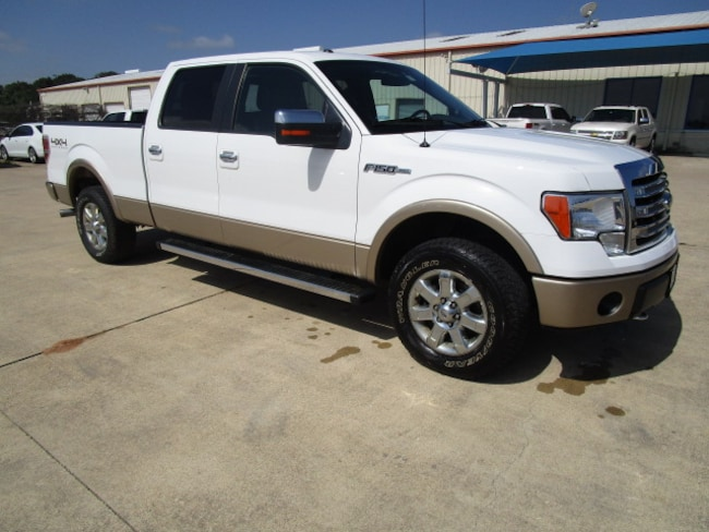 Used 2014 Ford F-150 Lariat Truck in Rockdale, TX