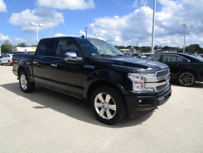 Used 2018 Ford F-150 Platinum Truck in Rockdale, TX