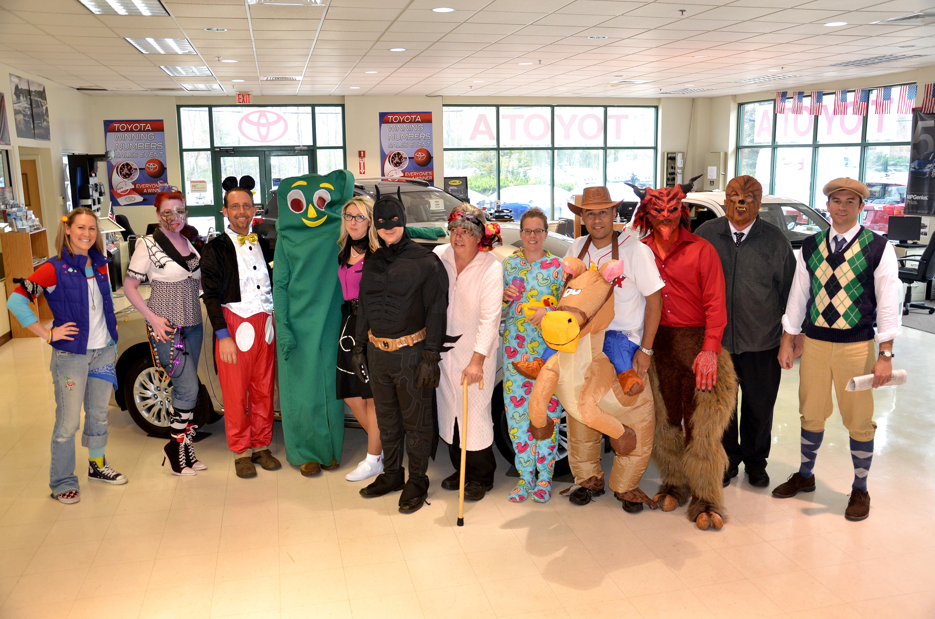 Rockingham toyota honda scion s second annual halloween costume contest was spooktacular we had everything from punky brewster and a 50 s sock hop girl to