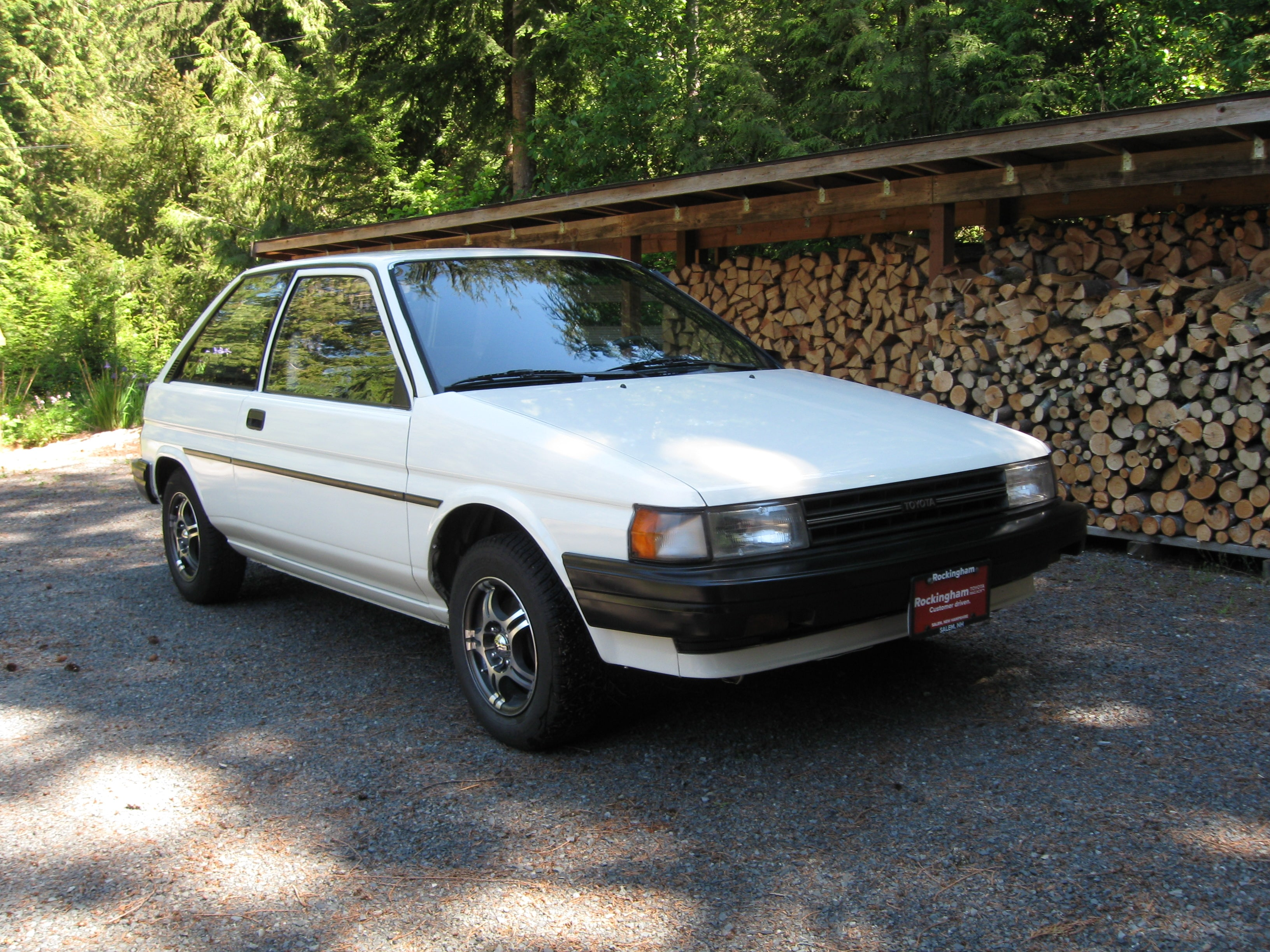 Judy and her tercel named betty have since traveled across the continent and are living outside of seattle washington judy is very proud of her car