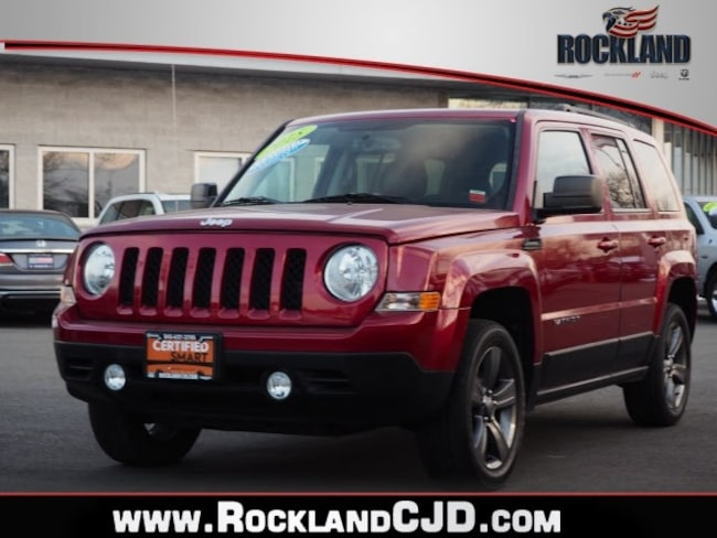 Certified Pre Owned 2015 Jeep Patriot Latitude 4x4 SUV Nanuet