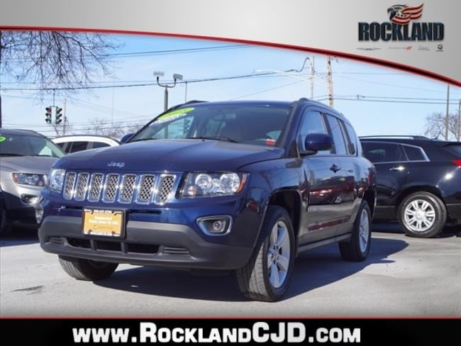 Certified Pre Owned 2015 Jeep Compass Latitude 4x4 SUV Nanuet