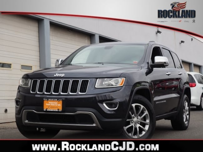 Certified Pre Owned 2015 Jeep Grand Cherokee Limited 4x4 SUV Nanuet