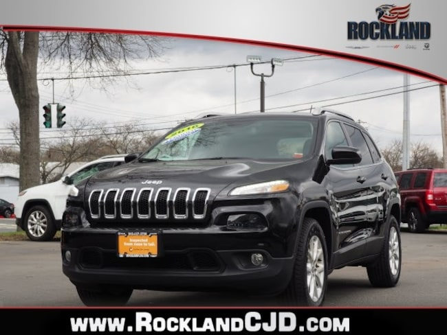 Used 2016 Jeep Cherokee Latitude 4x4 SUV Near White Plains