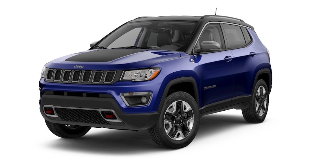Jeep Compass Trailhawk Jazz Blue Pearl Coat