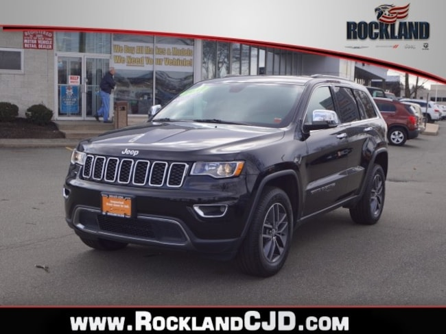 Certified Pre Owned 2017 Jeep Grand Cherokee Limited 4x4 SUV Nanuet