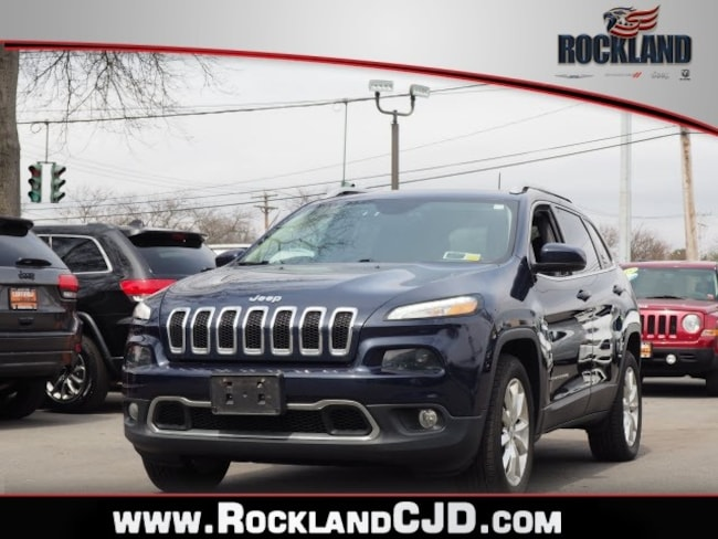 Used 2016 Jeep Cherokee Limited 4x4 SUV Near White Plains