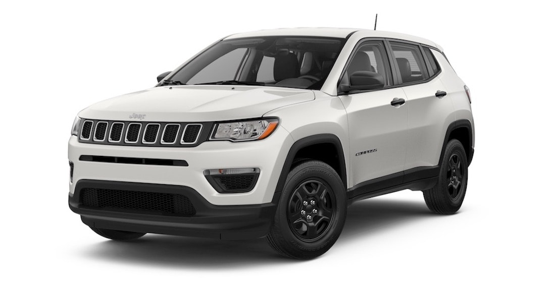 Jeep Compass Sport White Clear Coat