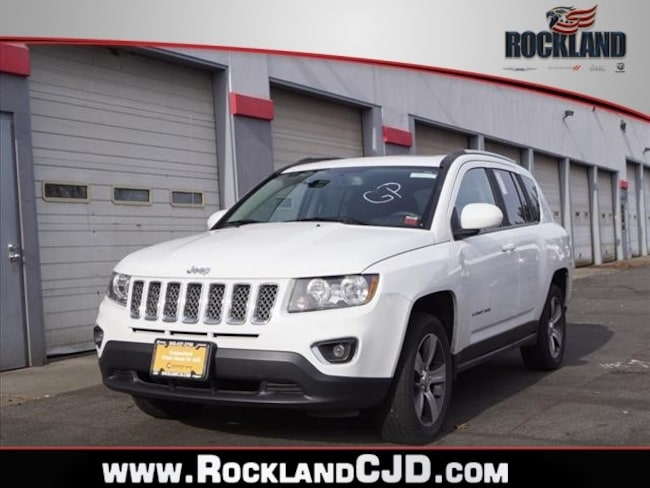 Certified Pre Owned 2016 Jeep Compass Latitude 4x4 SUV Nanuet