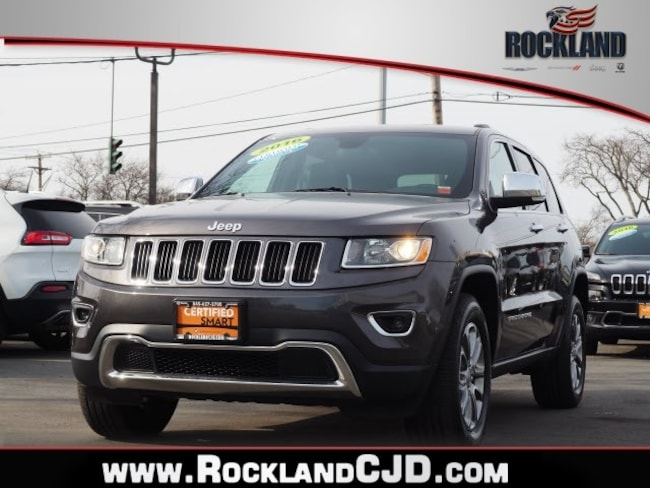 Certified Pre Owned 2016 Jeep Grand Cherokee Limited 4x4 SUV Nanuet