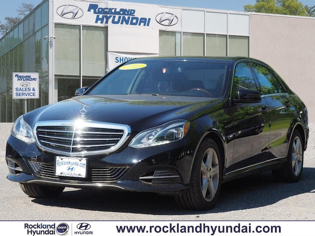 Used 2016 Mercedes-Benz E-Class For Sale at Rockland Hyundai