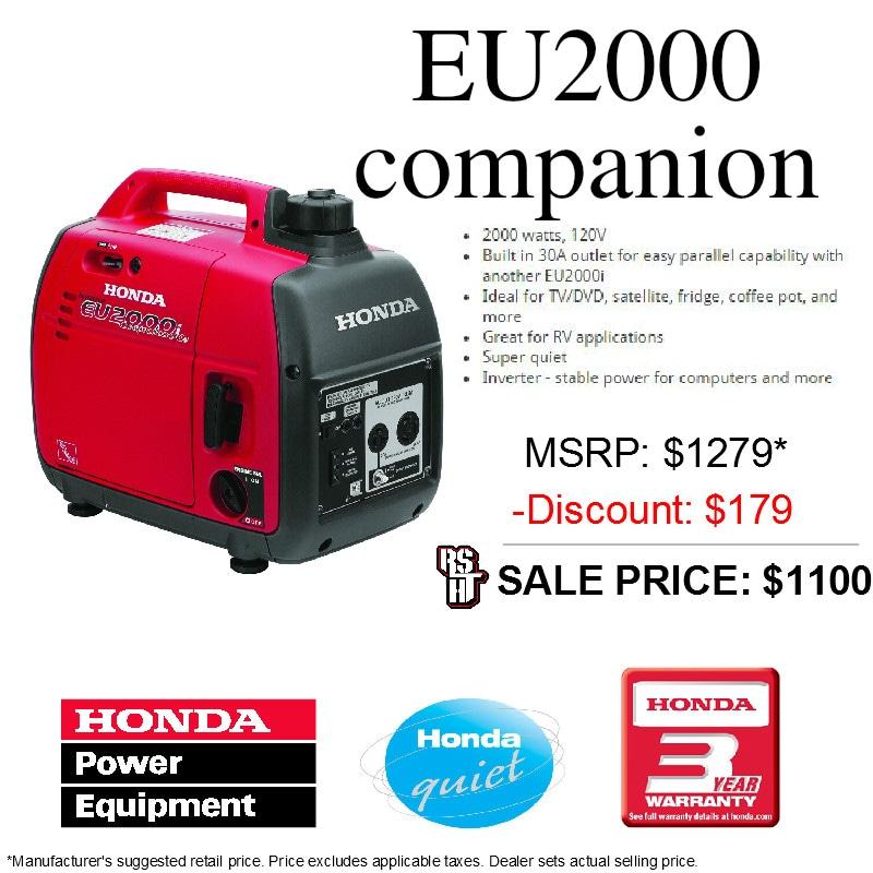 Honda Power Equipment. CURRENT SPECIALS: CURRENTLY ...