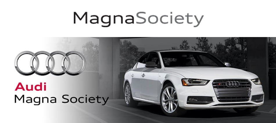 Audi Magna Society dealership in Rockville, Maryland