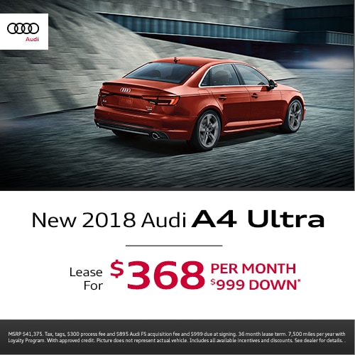 Audi New Car Special Offers