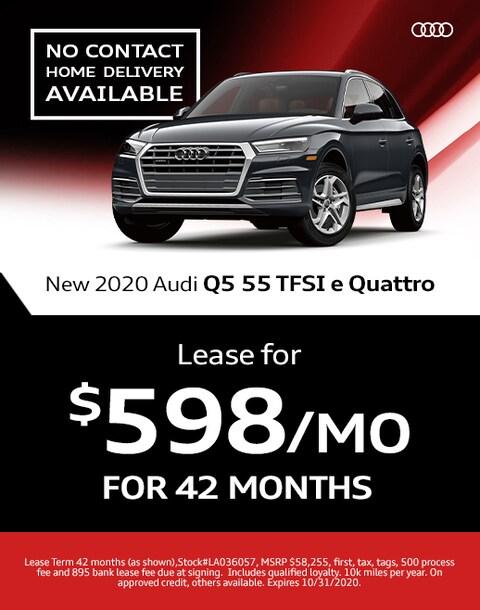 2020 Audi Q5 55 Lease Specials