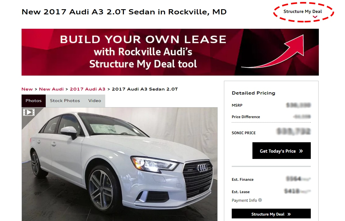 s places bowmansville payment same pick audi lease ny schmitt your view