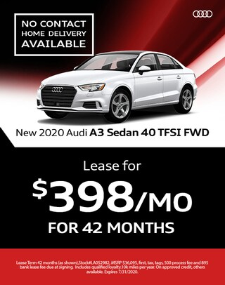 2020 Audi A3 Lease Specials