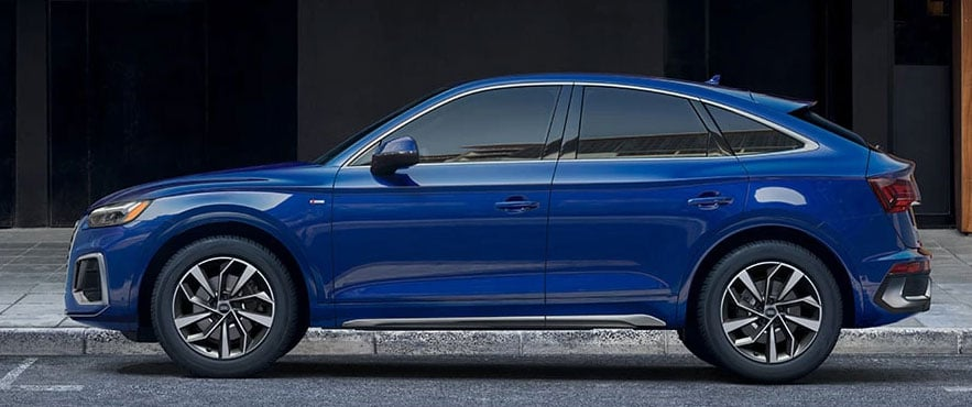 2021 Audi Q5 Sportback Side Profile