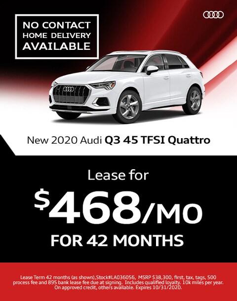 2020 Audi Q3 45 Lease Specials