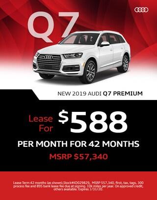 Q7 Premuim Audi 2020 Lease Offer