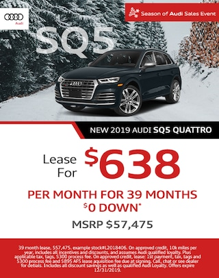 New Audi SQ5 Lease Offer - December