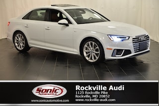 New 2019 Audi A4 2.0T Premium Plus Sedan for sale in Rockville, MD