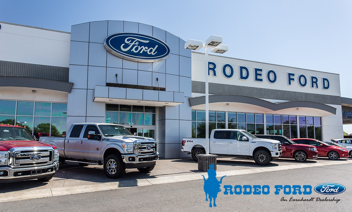 rodeo ford new ford dealership in goodyear az 85338. Black Bedroom Furniture Sets. Home Design Ideas