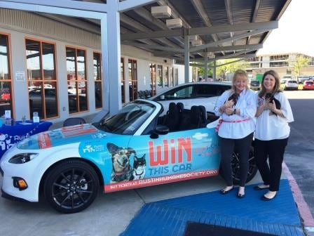 Today Was The 11th Annual Austin Humane Society Car Raffle Powered By Roger  Beasley Mazda. This Event Is One We Hold Close To Our Hearts As Ticket  Sales For ...