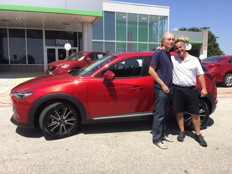 roger beasley mazda of georgetown sells the first mazda cx-3 in the