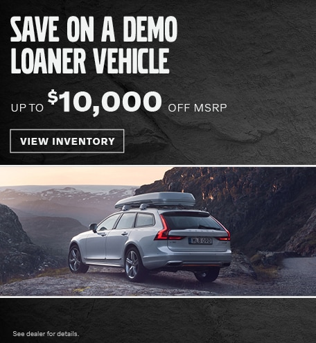 Save on a Demo Loaner Vehicle