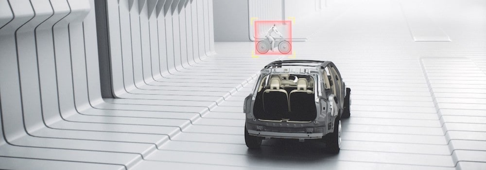 Volvo City Safety with Cyclist Detection