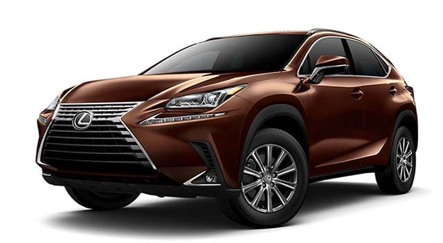 2019 Lexus NX Brown