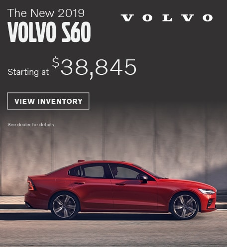 New 2019 Volvo S60 | Volvo Cars of Austin