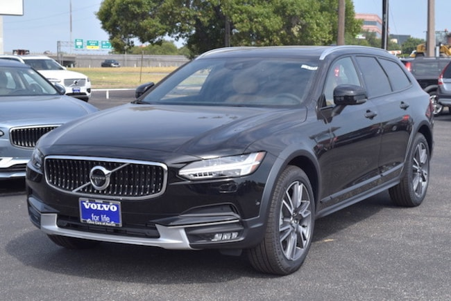 New 2017 Volvo V90 Cross Country Wagon T6 AWD Onyx Black in Austin TX YV4A22NL8H1007746 For Sale.