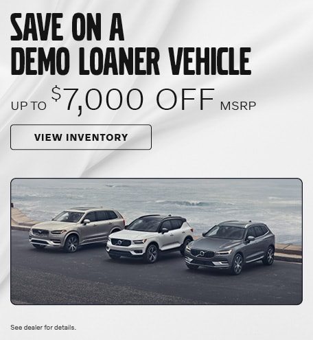 Save on a Demo Loaner Vehicle