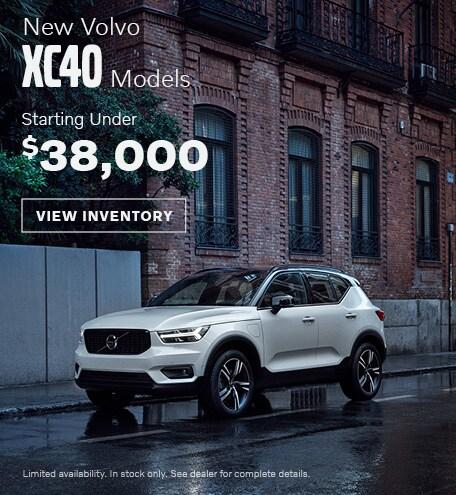 Volvo XC40 Offer